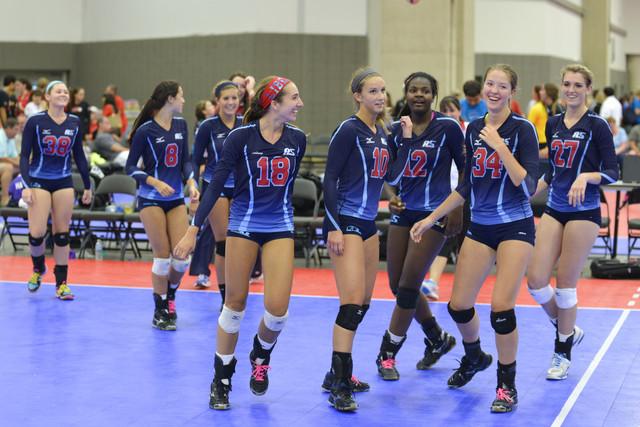 Arkansas Volleyhogs: VolleyMax Volleyball Club - girls volleyball